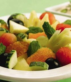 Tangy Fruit Medley ( Eat Well Stay Well Recipes )