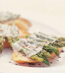Asparagus Bruschetta