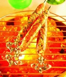 Badam Aur Arbi Ke Kebab (kebabs and Tikkis Recipes)