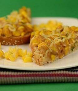 Baked Corn Sandwich