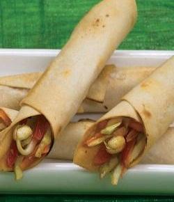 Baked Dragon Rolls ( Healthy Starter Recipe )