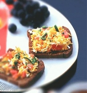 Carrot and Paneer Toast ( Low Calorie Healthy Cooking)