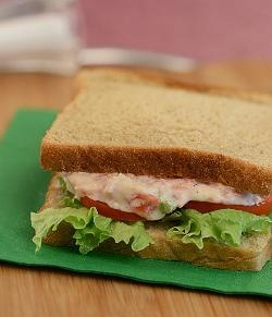 Carrot and Celery Sandwich