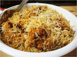 Chicken pukhi Biryani