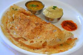 Sweet Dosa with Flour