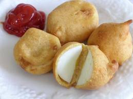 FRIED BOILED EGGS EGG PAKORA