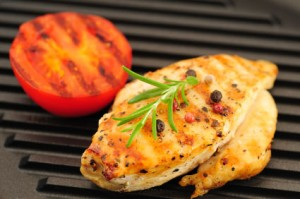 Grilled Mustard Chicken Breasts