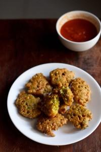 hurda bhajji recipe or hurda pakora