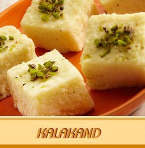 Kalakand (Indian Chesse-cake Squares)