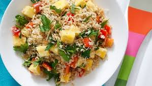 Healthy Pineapple And Coconut Rice