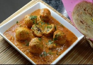Plum Stuffed in Chicken Kofta