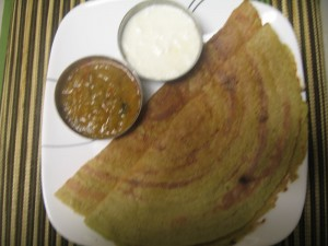 Ridge guard Dosa