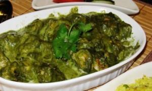 Green Lamb Curry Hariyali Gosht