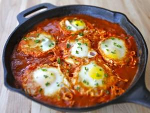 Paneer Egg Shakshuka