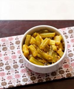 Gobi ke danthal ki sabzi recipe