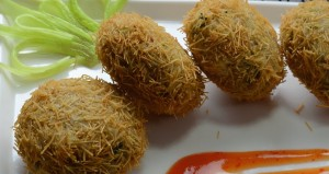 INDIAN KEBEB PATTI VERMICELLI COATED