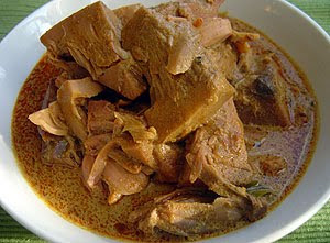 POLOS (GREEN JACK FRUIT) CURRY
