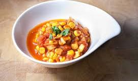 Sweet Corn Tomato Curry
