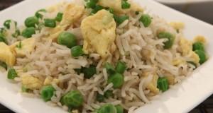 Egg Fried rice with whole garam masalas