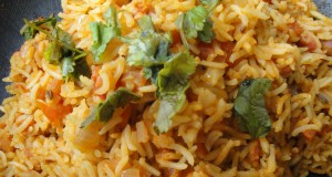 Spicy Sambar Fried Rice