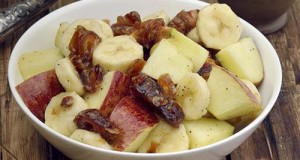 Apple, Banana and Date Salad