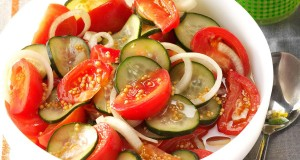 Fire and Ice Tomato Salad