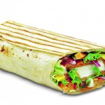 Salsa Paneer Wrap
