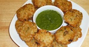 Crispy Khichri Pakode