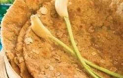 Garlic Rotis, Green Garlic Multigrain Roti