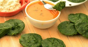 Moong Dal and Spinach Idli