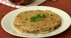 Oats and Cabbage Roti