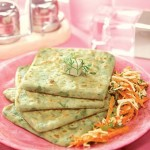 Paneer, Carrot and Bean Sprouts Paratha ( Weight Loss After Pregnancy )