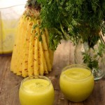Pineapple and Coriander Juice