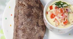 Ragi Roti Stuffed with Paneer Pesto